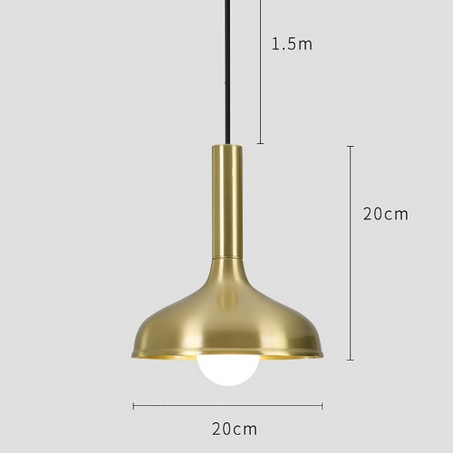 Yang Brass Pendant